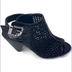 Vince Camuto caged sandals / bootie size 6.5 black